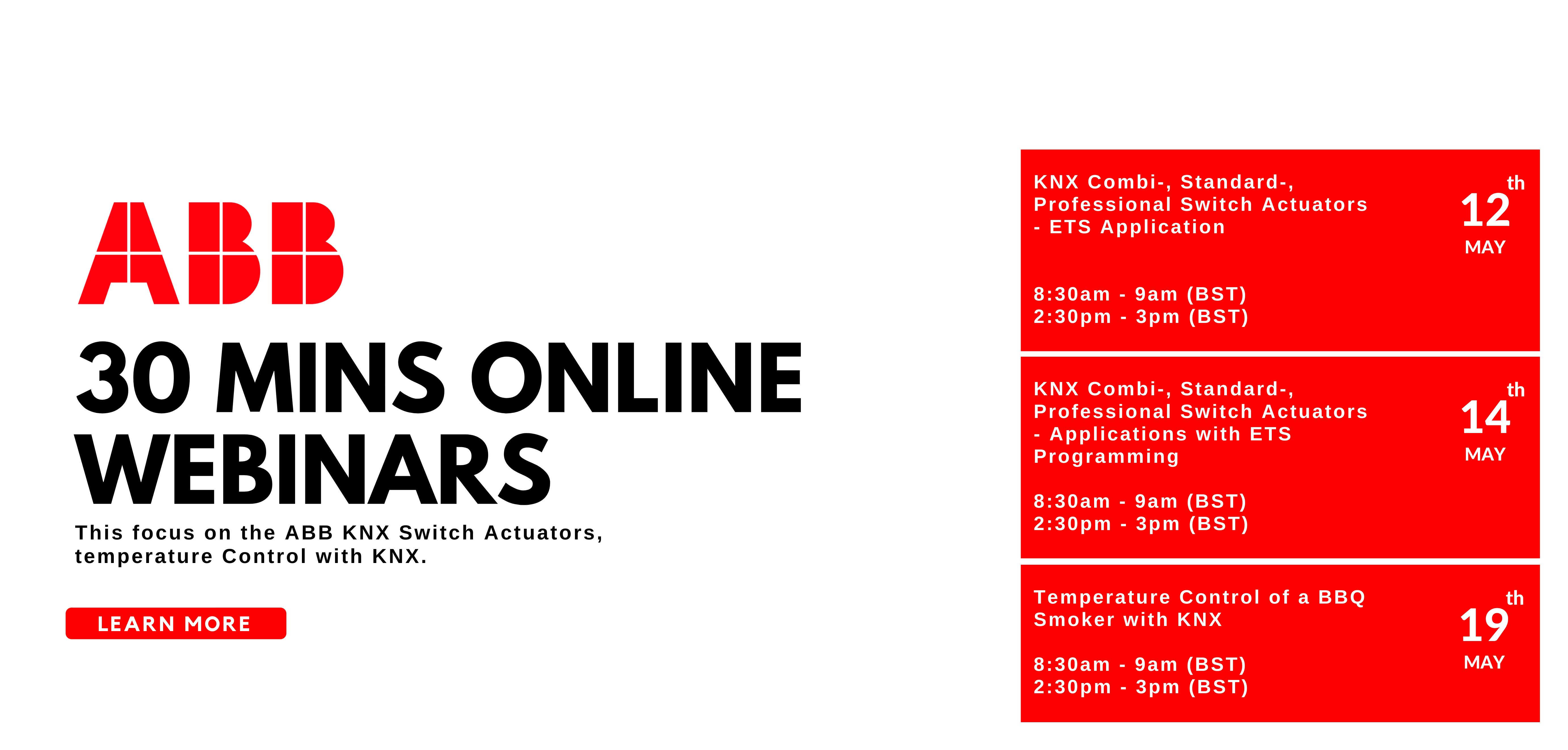 ABB 30mins online webianrs